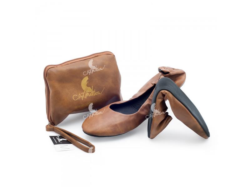 f8c426fa773 Skládací boty do kabelky Native --- kusový prodej