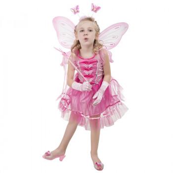 Kostým víla pink