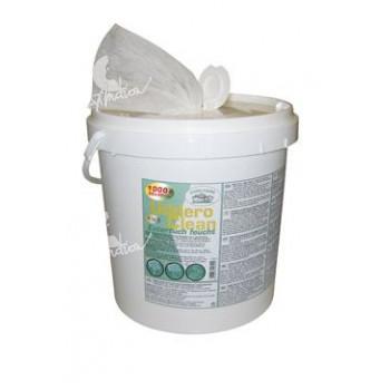Ubrousky vlhké na vemena Uddero Clean 1000ks kbelík