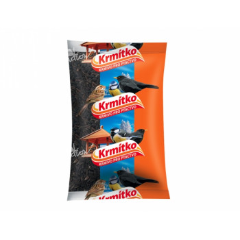 Krmivo KRMÍTKO slunečnice černá 800g