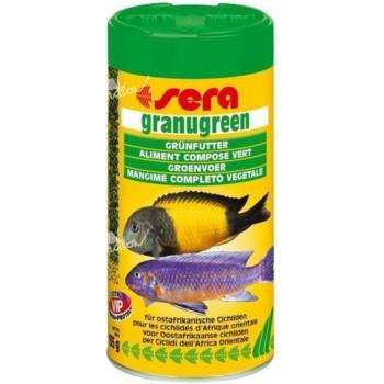 Sera Granugreen býložravé ryby granule 250 ml