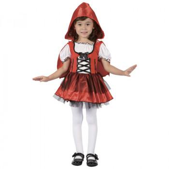 Kostým dívka v červeném,92-104 cm