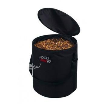 Zásobník na krmivo nylon Foodbag 10kg Černý TR