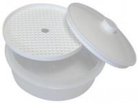 mikronapařovač do mikrovlnné trouby plastový