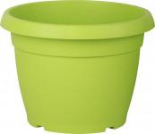 Květináč Similcotto broušený - zelený 25 cm