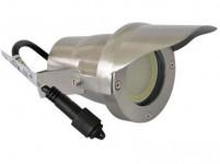 svítidlo LED 6,5W,520lm, MR20, IP67,3000K, teplé, Al ŠE+stínítko, zapich. i přišřoubovací