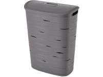 koš na špinavé prádlo RIBBON 59x45,7x27,3cm plastový, ŠE