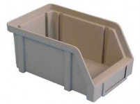 bedna ukládací zkos.20kg plastová, ČRV 300x200x140mm