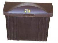 schránka poštovní plastová, 320x360x135mm, nová - mix barev