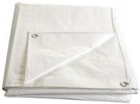 plachta s oky 2x 3m TRA/BÍ 140g/m2, kašírovaná