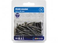 hřebík stavební 40x2,2mm (100ks)