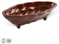 forma na vánočku 33x15,5x9,5cm keramická