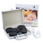 Lávové masážní kameny, sada 8 ks v samonahřívacím kufříku, HOT STONES, Catmotion