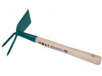 okopávačka 2 hroty S NÁSADOU 27cm PROFI český výrobek