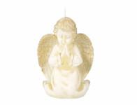 Svíčka ANDĚL RAFAEL vánoční 14cm