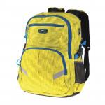 Easy flow 837995 Batoh školní dvoukomorový, žlutý, profilovaná záda, 26 l
