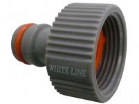 """adaptér s vnitřním závitem 3/4"""", WL-2195, WHITE LINE"""