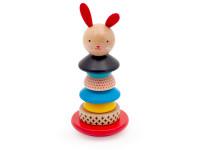 Zajíček - dřevěná montessori hračka