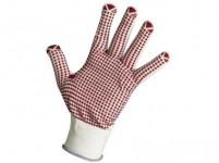 rukavice GANNET nylon/PVC terčíky