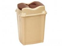 koš odpadkový WHIRPOOL výklopný 16l obdélníkový plastový - mix barev