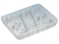 tác krystal 11x15cm imitace skla plastový