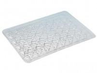 tác krystal 19,5x29,5cm imitace skla plastový