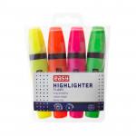 Flash zvýrazňovač, mix 4 barvy