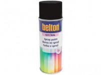 barva ve spreji BELTON RAL 9005, 400ml ČER