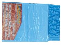 závěs koupel. UNI 180x200cm PVC + 12 háčků - mix barev