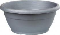 Žardina Similcotto broušená - stříbrná 25 cm