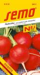 Semo Ředkvička červená - Kvarta tetraploidní na pole i k rychlení 5g - série Nej