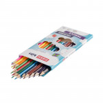EasyColours dřevěné pastelky trojhranné 12 ks/sada