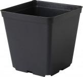 Květináč - kontejner, tvrdý plast 15x15x20 cm