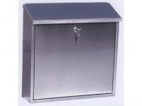 schránka poštovní 360x360x100mm nerez