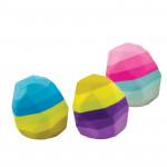 Pryž STONE balení 24 ks box mix barev