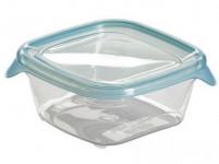 dóza FRESH&GO čtvercová 0,25l plastová