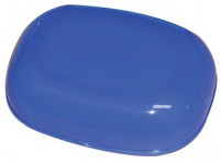 krabička na mýdlo ovál 11x8cm plastová - mix barev