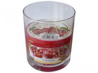 svíčka vonná sklo VIŠEŇ 130g (hoří 26hod)
