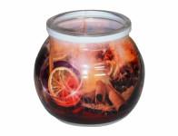 Svíčka ve skle SVAŘENÉ VÍNO vonná 85g