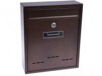 schránka poštovní RADIM M 260x310x90mm měď. antika