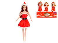 Panenka vánoční 29 cm v kornoutu - mix variant či barev