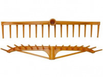 hřeben na seno 59x10cm, 16z plastový