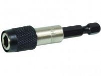 """nástavec na bity 1/4"""" magnet.60mm rychloupínací (5ks)"""