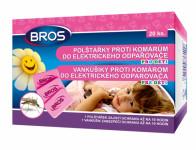 Bros - náhradní polštářky do odpařovače proti komárům pro děti 20 ks
