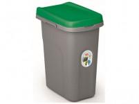 koš na tříděný odpad HOME ECO SYSTEM 15l plastový, ŠE/ZE