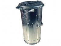 nádoba na odpadky 110l Zn kulatá