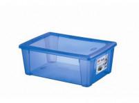 box úložný SCATOLA 10l, 36,5x25,5x14cm s víkem plastový, MO
