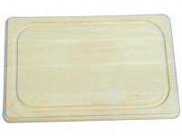 prkénko 45x30x1,9cm s drážkou dřev.