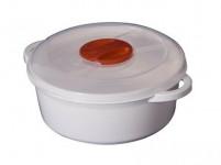 hrnec do mikrovlnné trouby 0,5l kulatý plastový