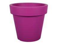 Květník LOFLY plastový fialovo růžový d13x12cm